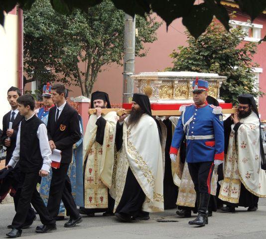 Sfântul Martir Constantin Vodă Brâncoveanu revine în Ţara Făgăraşului