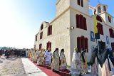 A fost târnosită prima biserică închinată Sfântului Porfirie Kavsokalivitul