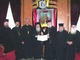 Restabilirea comuniunii depline cu Patriarhia Ierusalimului