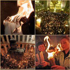 Am văzut Lumina cea adevărată! Paştile Ortodoxe şi Sfânta Lumină de la Ierusalim.