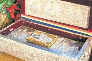 Opinie tendențioasă privind autenticitatea moaștelor Sf. Nicolae din București