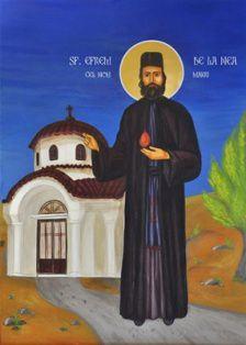 Acatist către Sfântul Efrem cel Nou pentru NAȘTEREA DE PRUNCI - în limba engleză