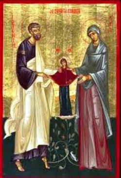 În limba italiană – Acatistul Sfinţilor Ioachim şi Ana