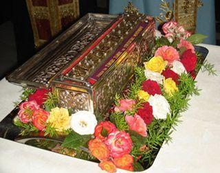 Brâul Maicii Domnului va fi adus spre închinare în Arhiepiscopia Sibiului