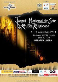 O nouă ediție a Târgului Național de Carte și Revistă Religioasă - Sibiu, 6-9 noiembrie