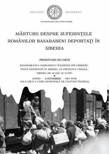 Mărturii despre suferinţele românilor basarabeni  deportaţi în Siberia