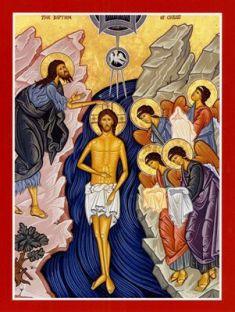 Botezul Domnului în Sfânta Scriptură și iconografie