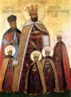 Domnitorul Constantin Brâncoveanu, de la prințul aurului la martirul lui Hristos