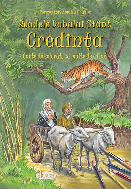 Roadele Duhului Sfânt - vol.4. CREDINȚA - Amalia Dragne (CARTE)