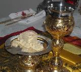 Sfânta Împărtăşanie în Noul şi Vechiul Testament