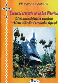 Buruieni crescute la umbra Bisericii - PS Valerian Zaharia (CARTE)