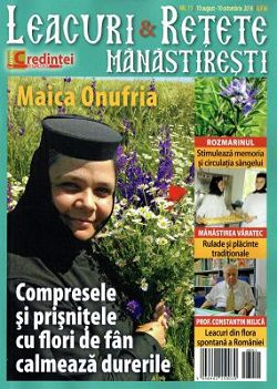 Revista Leacuri si retete manastiresti nr. 11 10 august - 10 octombrie 2016