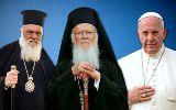 Vizită cu iz ecumenic și politic a Papei Francisc în Grecia pentru a discuta cu Patriarhul ecumenic Bartolomeu și Arhiepiscopul Atenei despre criza refugiaților din Siria