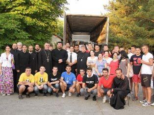 Asistență umanitară a Bisericii pentru sinistrații din Serbia