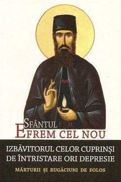 Sfantul Efrem cel Nou, izbavitorul celor cuprinsi de intristare ori depresie