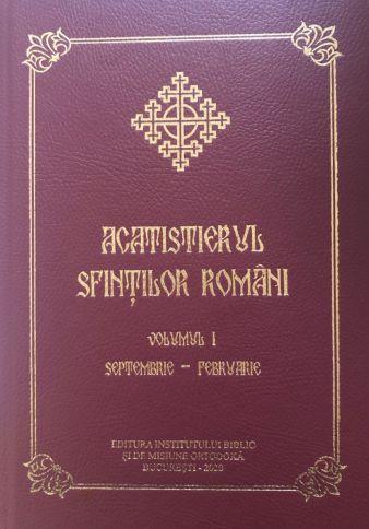 Acatistierul Sfintilor Romani VOL. I