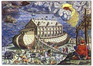 Arca lui Noe - interpretare literal-vizuală