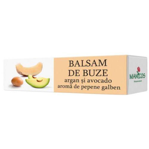 Balsam de buze cu ulei de argan, avocado si aroma de pepene galben, 4.8 g