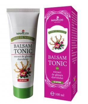 Balsam tonic cu extract de gheara diavolului, 100 ml