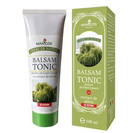 Balsam tonic pentru picioare usoare cu extract de salcie, 100 ml -   *** (Naturiste)