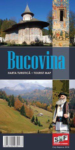BUCOVINA - Harta turistică