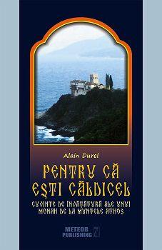 Pentru că eşti căldicel. Cuvinte de învățătură ale unui monah de la Muntele Athos - Alain Durel (CARTE)