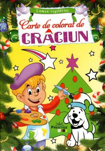 Carte de colorat de Crăciun