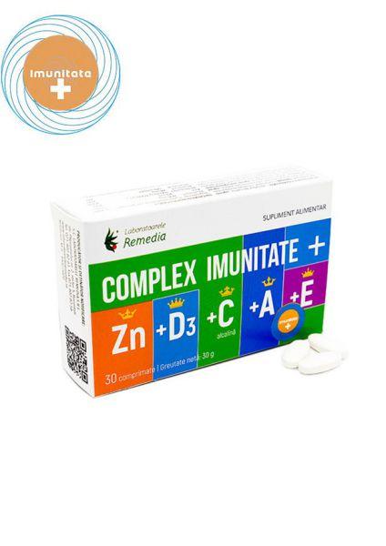 Complex IMUNITATE + Zn + D3 + C + A + E -   *** (Naturiste)