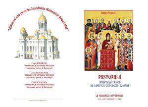 Pastorala Sfântului Sinod al BOR în Duminica Ortodoxiei 2017