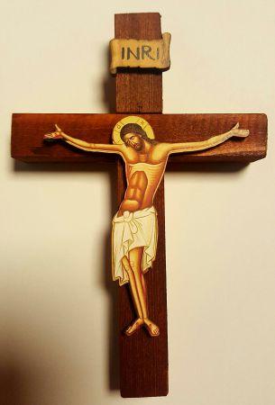 ÷ Cruce de lemn pentru perete -   *** (Artizanat)