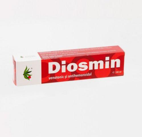 Diosmin cremă: Venotonic și antihemoroidal, 100 ml -   *** (Naturiste)
