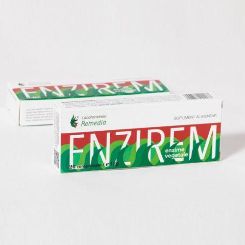 Enzirem: enzime vegetale (20 comprimate) -   *** (Naturiste)