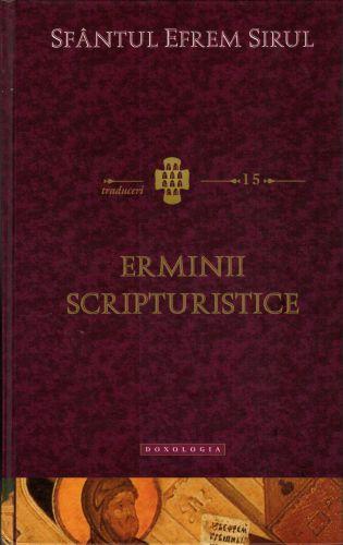 Erminii scripturistice -   *** (CARTE)