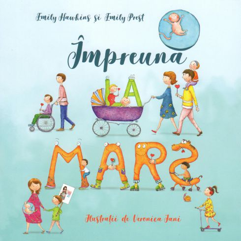 Impreuna la mars - Veronica Iani (CARTE)