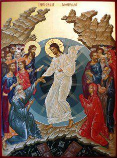 Icoana Învierii Domnului sau despre Crucea Paştilor