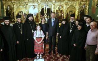 Preşedintele României, întâlnire cu Patriarhul Ierusalimului și vizită la Reprezentanța Bisericii Ortodoxe Române de la Ierusalim