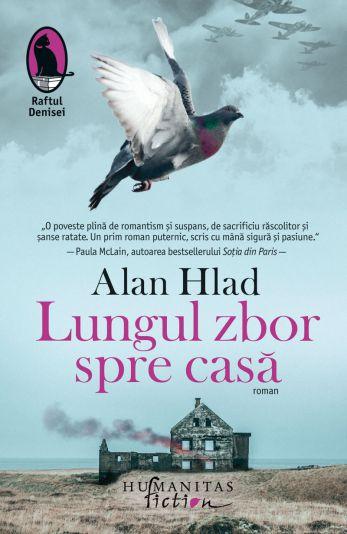 Lungul zbor spre casă - Alan Hlad (CARTE)