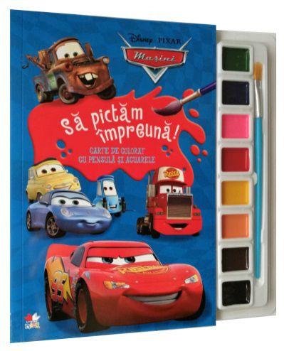 Disney. Mașini. Să pictăm împreună!