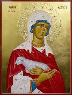 Viața Sfintei Mucenițe Agnia