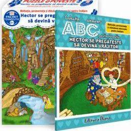 Hector se pregătește să devină vrăjitor (cutie cu Poveste terapeutică + Set Puzzle)(copii minim 6 ani)