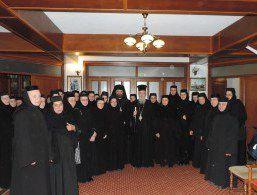 Mitropolitul Ierotheos Vlachos în vizită la Mănăstirile Paltin Petru-Vodă și Diaconești - comunicate