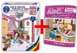 Lulu și cadourile încărcate cu iubire (cutie cu Poveste terapeutică + Set Puzzle)(copii minim 4 ani)