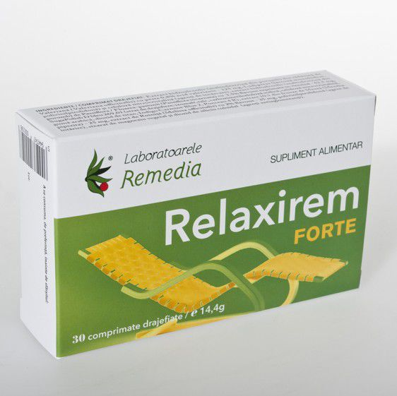 Relaxirem Forte (30 comprimate)