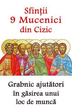 Sfinții 9 Mucenici din Cizic