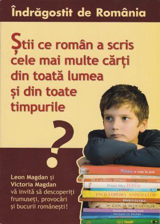 Știi ce român a scris cele mai multe cărți din toată lumea și din toate timpurile ?