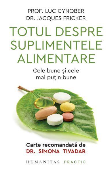 ¤ Totul despre suplimentele alimentare - Luc Cynober (CARTE)