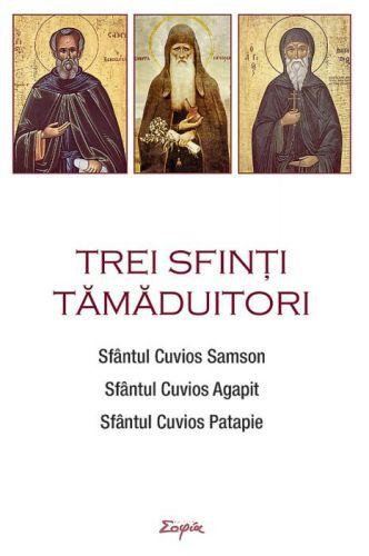 Trei sfinți tămăduitori: Sfântul Samson, Sfântul Agapit, Sfântul Patapie
