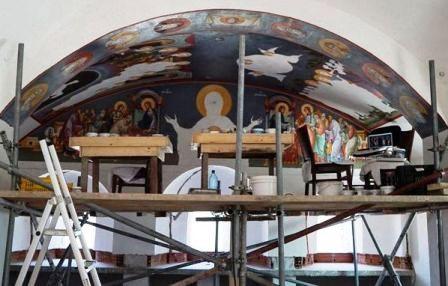 Apel pentru sprijin la pictura de la bisericuta Sf. Cuv. Paisie Aghioritul
