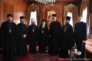 Patriarhul Ecumenic, invitat în Moscova la centenarul restabilirii patriarhiei ruse