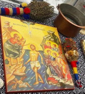 Rugăciune la sfințirea Aghesmei Mari